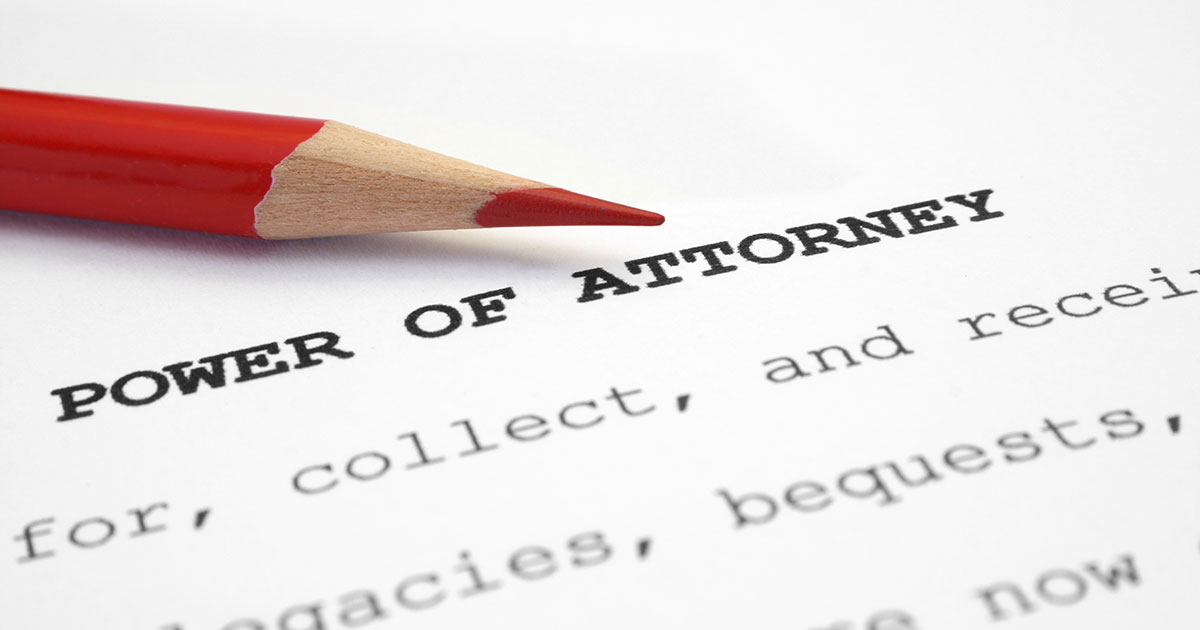 Powers Of Attorney…can This Expedite The Transfer Process?